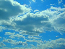 Cloud pattern Stock Images