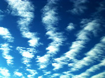 Cloud in perspective. Blue sky whit clouds, natural Stock Photos