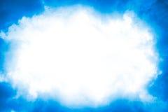 cloud photo frame stock photo