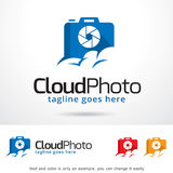 Cloud Photo Logo Template Design Vector Stock Photography
