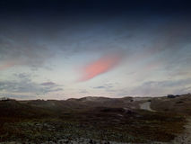cloud pinken Royaltyfri Bild