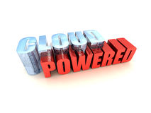 Cloud Powered Royalty Free Stock Photos