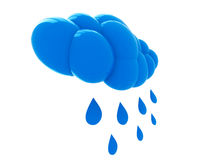 Cloud and rain Royalty Free Stock Photography