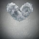 Cloud rain weather concept Royalty Free Stock Images