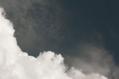 Cloud before raining,Dramatic sky with stormy clouds. Dark ominous clouds royalty free stock images