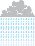 Cloud Zs Royalty Free Stock Photo