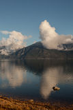 Cloud reflections in Portage Cove Stock Photography