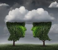 Cloud Relationship Stock Image