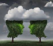 Cloud Relationship Stock Image