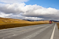 Cloud road Royalty Free Stock Images