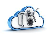 cloud säkerhet Royaltyfri Fotografi
