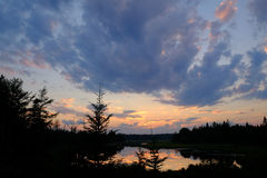 cloud słońca Obrazy Stock