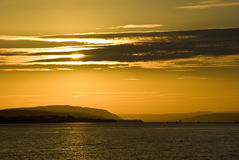 cloud słońca Fotografia Royalty Free