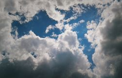 Cloud& x27; s stock afbeelding