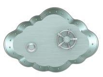 Cloud - safe box Stock Image