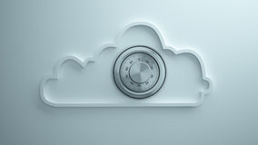 Cloud safety Royalty Free Stock Photography