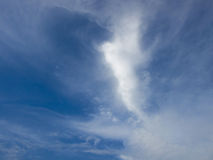 Cloud scape. In a autoumn mid day Royalty Free Stock Image