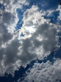 Cloud scape. Blue sky Royalty Free Stock Image
