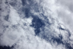 Cloud Scape, Cloud scape in railny season Royalty Free Stock Image
