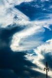 Cloud scape stock photo