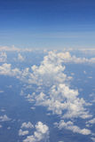 Cloud scape on a plane. Cloud scape take photo from a plane in Thailand Stock Images