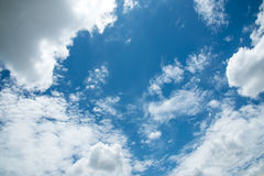 Cloud scape Royalty Free Stock Photo