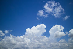Cloud scape Stock Images