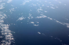 Cloud and sea Royalty Free Stock Image