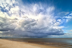 Cloud and sea. Stock Image