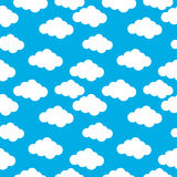Cloud seamless pattern Royalty Free Stock Photo