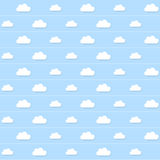 Cloud Seamless wallpaper Royalty Free Stock Photo