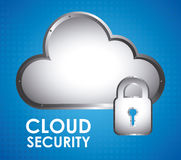 Cloud Security Royalty Free Stock Images