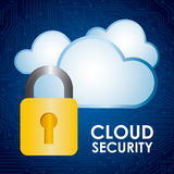 Cloud security Royalty Free Stock Image