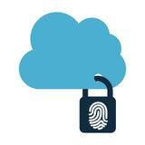 Cloud security Stock Photography