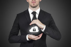 Cloud security industry Stock Photos