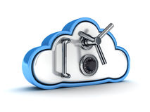 Cloud security Royalty Free Stock Photography