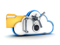 Cloud security Stock Photo