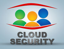 Cloud Security Royalty Free Stock Photo
