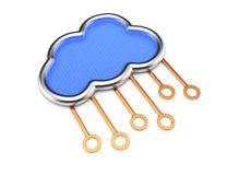 Cloud server concept Stock Image