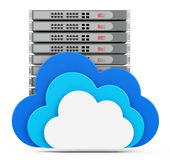 The cloud server Stock Photos