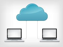 Cloud Service Royalty Free Stock Images