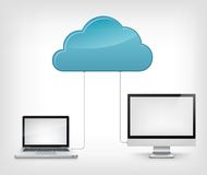Cloud Service Stock Photo