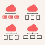 Cloud Service Royalty Free Stock Photos