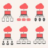 Cloud Service Royalty Free Stock Photography