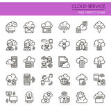 Cloud Service Royalty Free Stock Photo