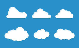 Cloud set Stock Photography