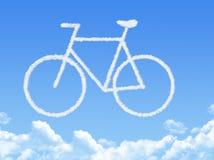 Cloud shaped as Bike Stock Photos