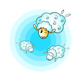 Cloud sheep Royalty Free Stock Photo