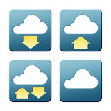 Cloud signs Stock Images