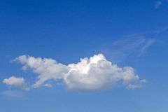 Cloud similar to a fish Royalty Free Stock Photo